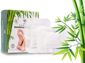 Image of Foot Pads - Premium Detox - 20 pack - Remove Impurities, Body Cleansing, Pain & Stress Relief, Improve Sleep, 100% Organic